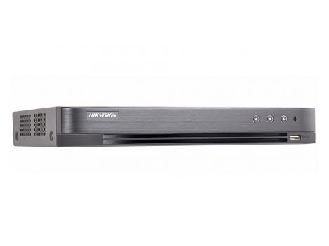 Dvr Turbo HD 8 canale, 8 Megapixeli, 4 audio, H265+, Audio over Coax, Hikvison DS-7208HUHI-K1(S) [0]