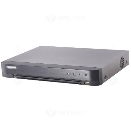 DVR HDTVI Turbo HD Hikvision PoC DS-7204HQHI-K1/P, 4 canale, 4 MP [0]