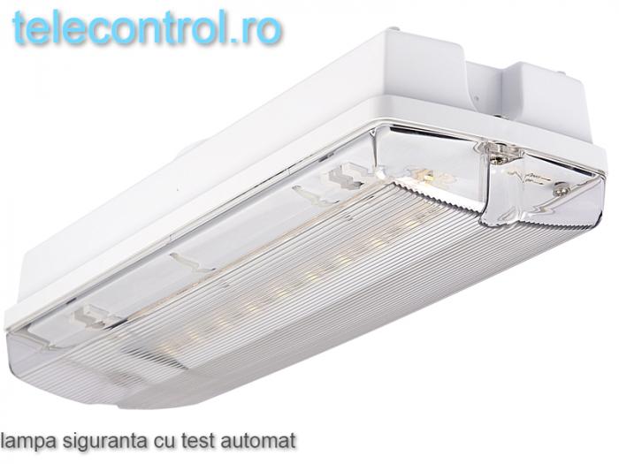 Corp iluminat siguranta aplicat, IP65, 3h, mentinut, test automat, 4W, Intelight 97245 [0]