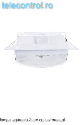 Lampa siguranta aplicata, IP65, 3h, mentinut, test manual, 7W,  Intelight 98305 2