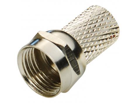 Mufa semnal video F pentru splittere si distribuitoare CATV [0]