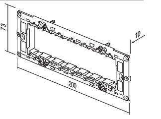 Rama de fixare 7 Module NM70 [1]