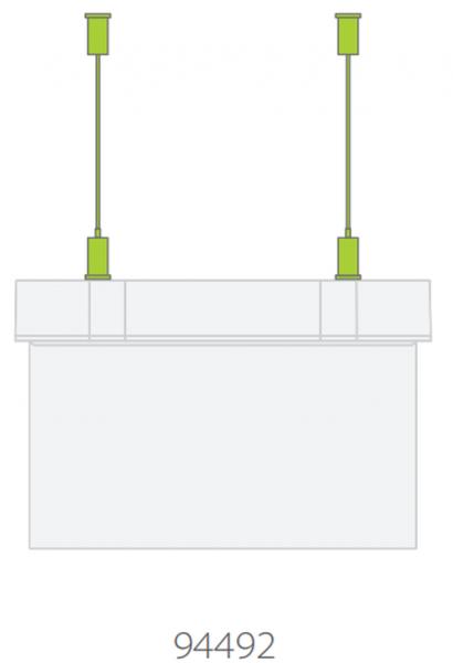 Suport fixare suspendat lampa Suprema Intelight 94492      0