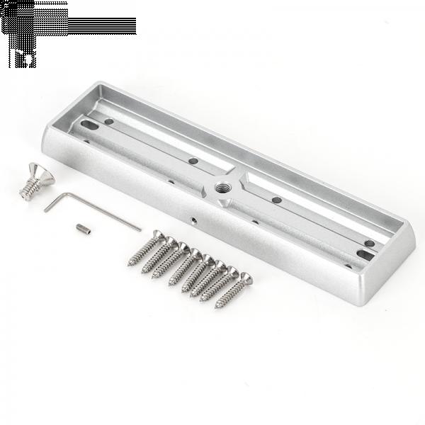 Suport montare contraplaca electromagnet MBK-280I-N, aparent, aluminiu anodizat 2
