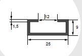 TPS-ALU2509 - ghid aluminiu [0]