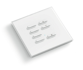 TVTXI868BB07 -  Intrerupator radio, 7 canale, alb 0