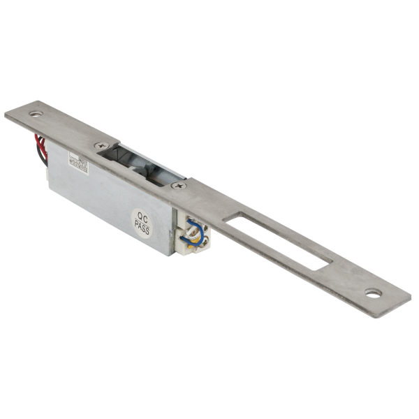 Yala electromagnetica incastrabila lunga cu buton deblocare YS-150NO(L), normal deschis, fail secure, 500 kgf [1]