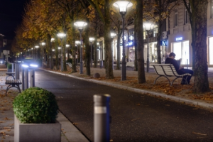 Lampa iluminat stradal led indirect 45 Intelight 96836 42W    5