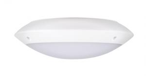 Plafoniera led rotunda, exterior, senzor prezenta, 12W, 3000K, IK10, Intelight 97801 [1]