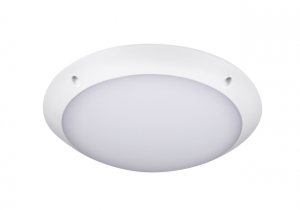 Plafoniera led rotunda, exterior, senzor prezenta, 12W, 4000K, IK10, Intelight 97847 [0]