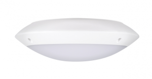 Plafoniera led rotunda, exterior, senzor prezenta, 12W, 4000K, IK10, Intelight 97847 [1]