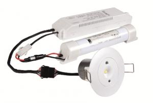 Lampa antipanica led Intelight 99616 3W  3h mentinut/nementinut test manual4