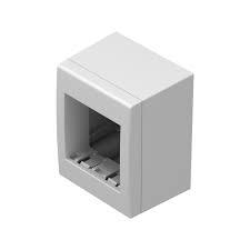 Doza aparataj modular 2 module aplicata Cubo AC21PW [0]