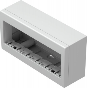 Doza aparataj modular 6 module aplicata Cubo AC61PW [0]