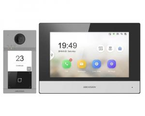 Kit videointerfon wireless Hikvision complet cu apelare pe mobil. Instalare inclusa in pretul kitului oriunde in judetul DOLJ.0