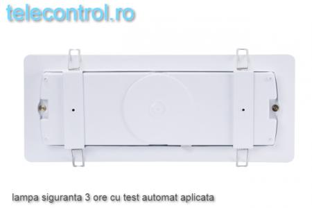 Lampa siguranta aplicata, IP65, 3h, mentinut, test automat, 4W, Intelight 99905 [3]