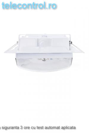 Lampa siguranta aplicata, IP65, 3h, mentinut, test automat, 4W, Intelight 99905 [2]
