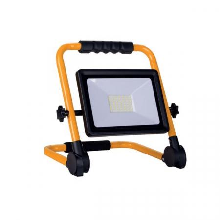 Proiector led de santier alb rece 1600lm 30W cablu 3m Optonica 5404 [3]