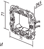Rama de fixare 2 Module NM20 [1]