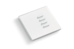 TVTXI868BB04 - Intrerupator radio, 4 canale, alb