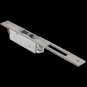 Yala electromagnetica incastrabila lunga cu buton deblocare YS-150NC(L), normal inchis, fail safe, 500 kgf [1]