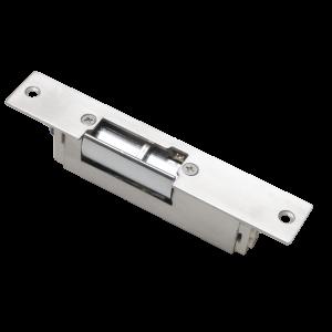 Yala electromagnetica incastrabila scurta cu buton deblocare YS-150NC(S), normal inchis, fail safe, 500 kgf [0]