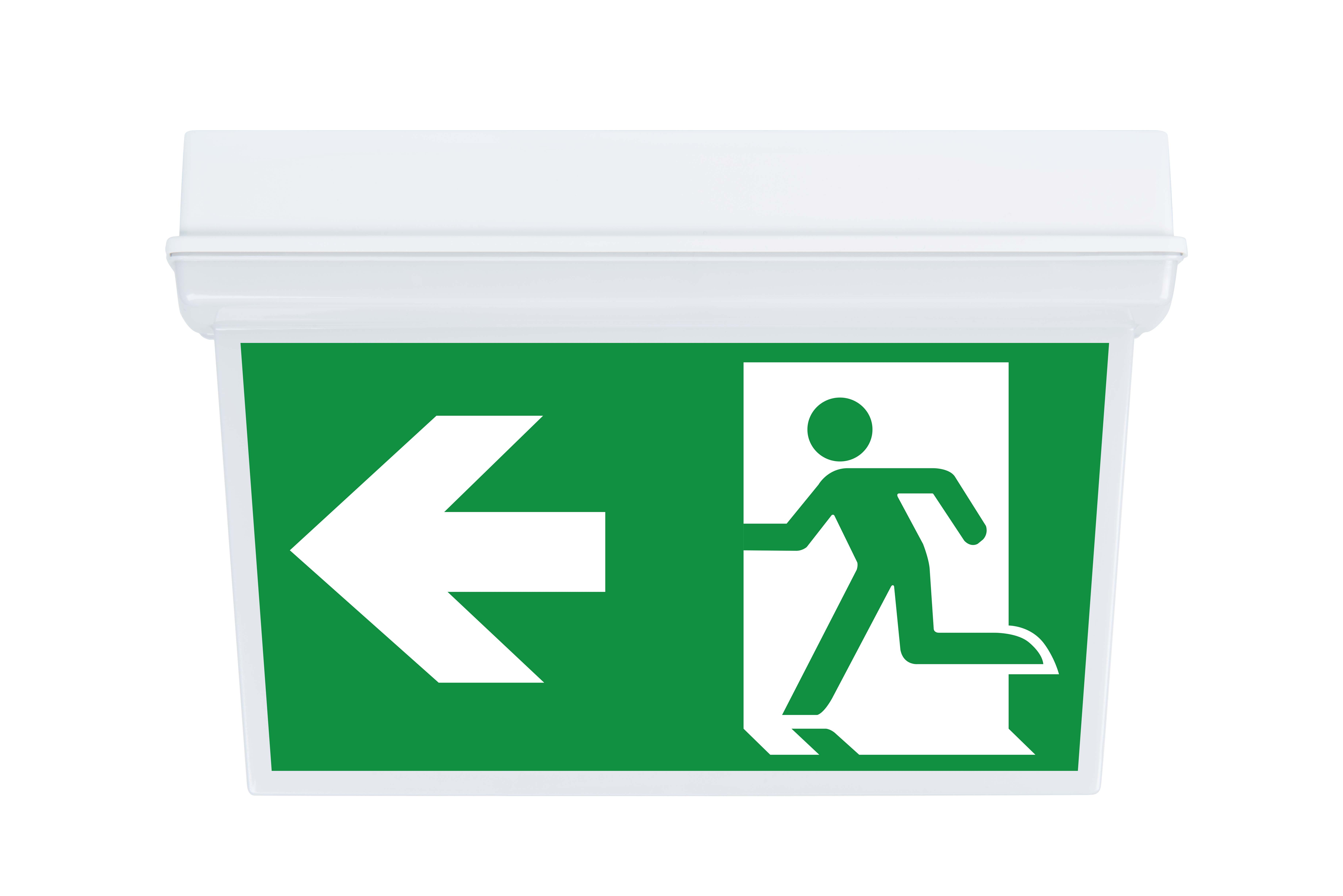 Lampa evacuare led Intelight 98305 3h mentinut/nementinut test manual 154lm 1