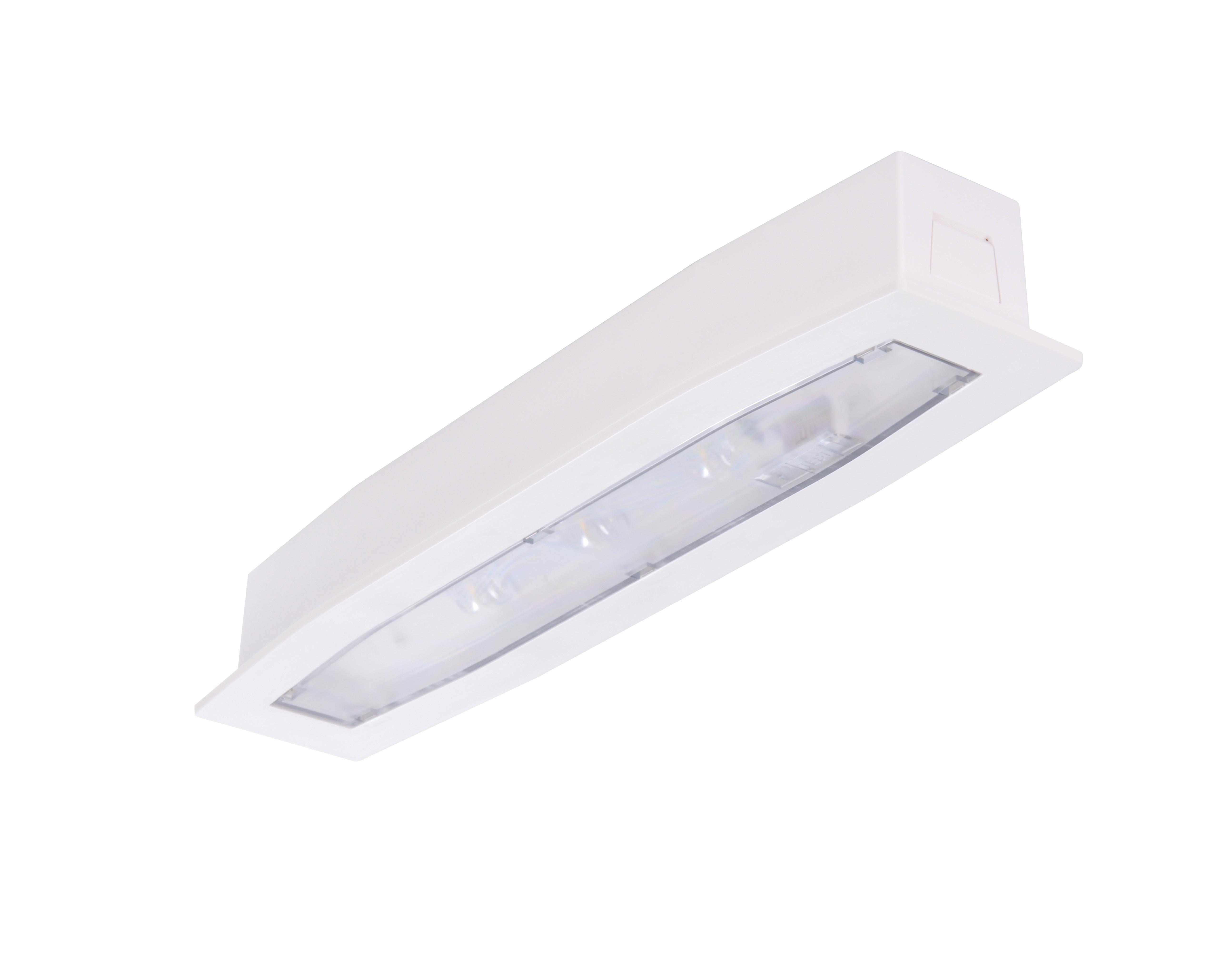 Lampa emergenta led Intelight 94769   3h nementinut test automat 3
