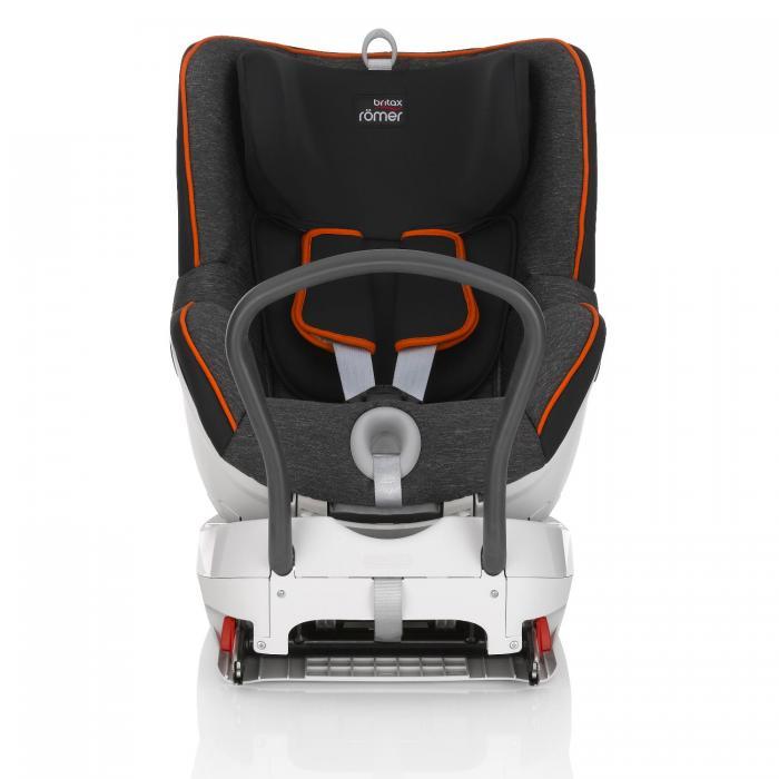 Britax Romer - DualFix. De la naștere la 18 kg (4 ani). Cu spatele până la 18 kg. Opțional cu fața de la 9 kg. 1