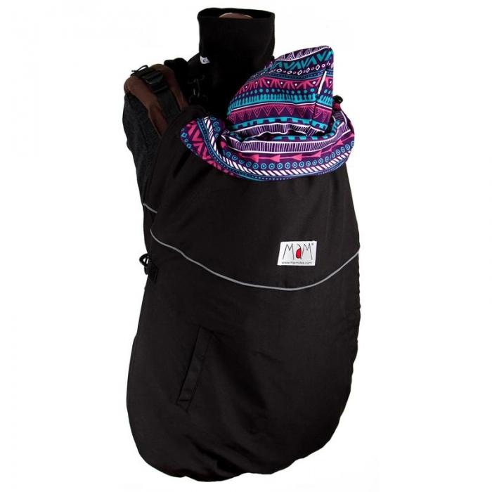 MaM DeLuxe Flex - Protecţie universală pentru vreme rece. Culoare Black/Boho 2