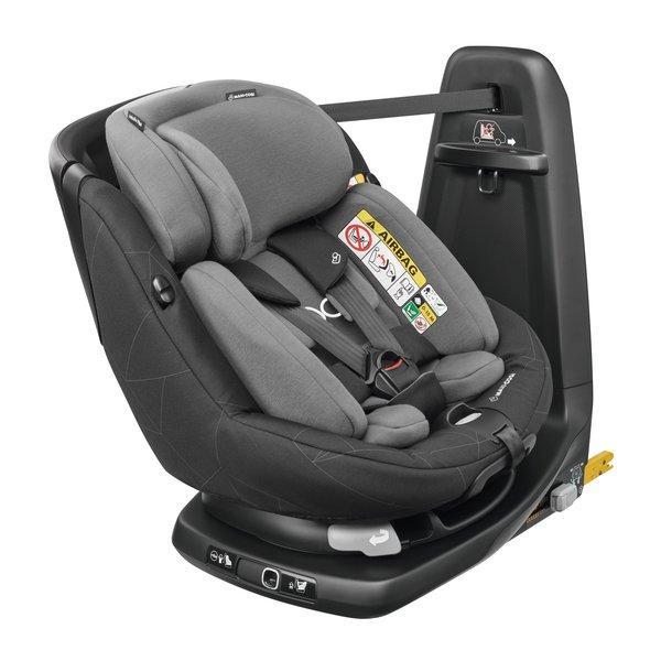 Maxi Cosi - AxissFix Plus i-Size. De la naștere la 4 ani. Prindere exclusiv în Isofix + Top Tether. Rotire 360 grade. 2