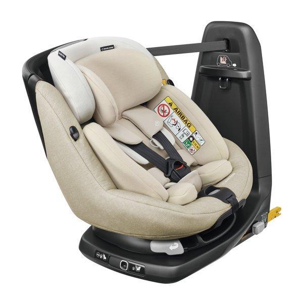 Maxi Cosi - AxissFix Plus i-Size. De la naștere la 4 ani. Prindere exclusiv în Isofix + Top Tether. Rotire 360 grade. 8