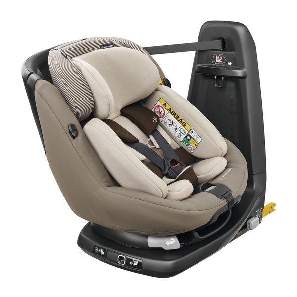 Maxi Cosi - AxissFix Plus i-Size. De la naștere la 4 ani. Prindere exclusiv în Isofix + Top Tether. Rotire 360 grade. 7