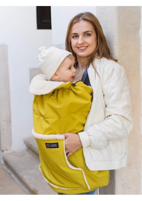 Isara - Protecție universală pentru vreme rece. Culoare Yellow Mellow. 1