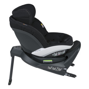 BeSafe iZi Turn Premium Black Car Interior. i-Size, rotire 360 grade. Poziție somn excelentă. 6 luni -> 4 ani (105 cm sau 18 kg).3