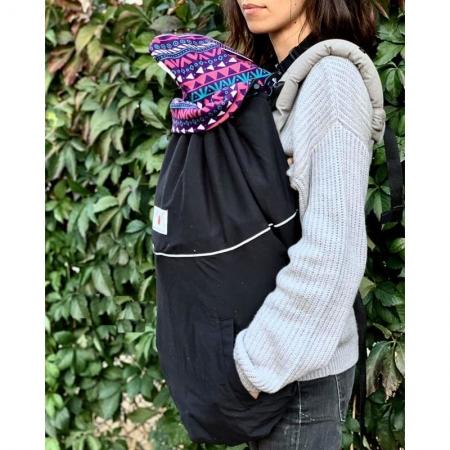 MaM DeLuxe Flex - Protecţie universală pentru vreme rece. Culoare Black/Boho1