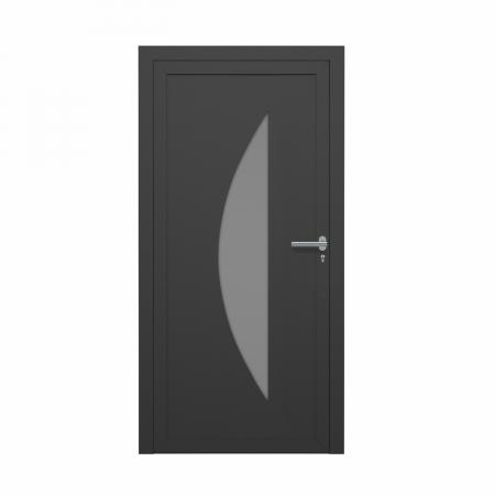 Louis, Porte d'entrée résidentielle premium, profilé ALU