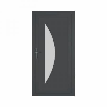 Louis, Porte d'entrée résidentielle premium, profilé PVC