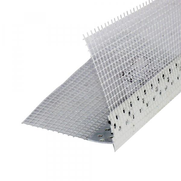 Profil pentru balcoane cu lacrimar, THERMOMASTER PVC-B, 2.5m [0]
