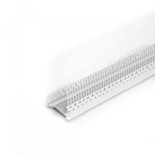 Profil de dilatare perete, 2.5m, PVC 0