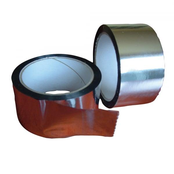 Banda autoadeziva aluminizata pentru folii bariera de vapori, ISOFLEX TAPE 0