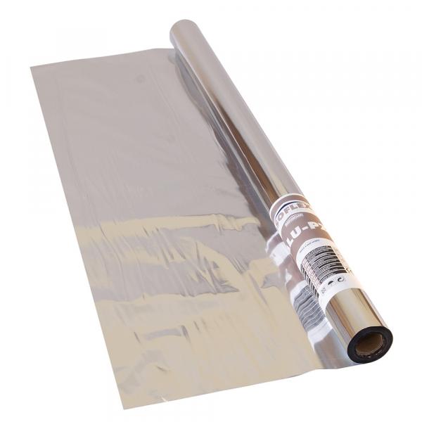 Folie bariera de vapori aluminizata, 55g/mp, ISOFLEX ALU-PZ, 60 mp 0