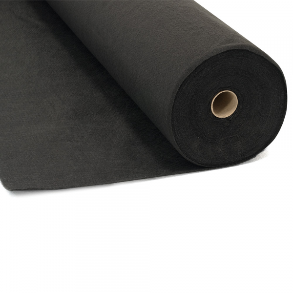 Geotextil negru TERRAPLAST GEOTEX, 100 g/mp, 18 mp/sul 1