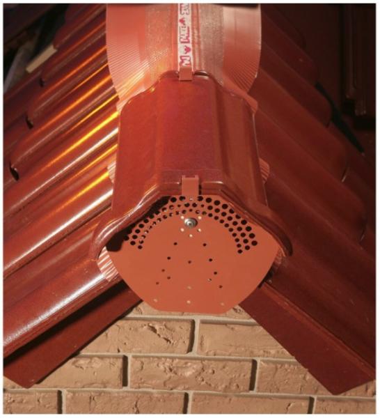 Inchidere coama PVC ROOFBOND AC, 3 culori [1]