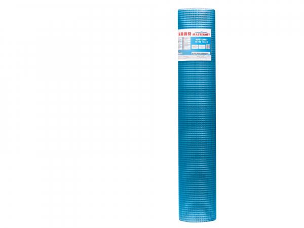 Plasa fibra de sticla, Albastra, 110 g/mp, Rabitz A, MASTERNET, 50mp 1