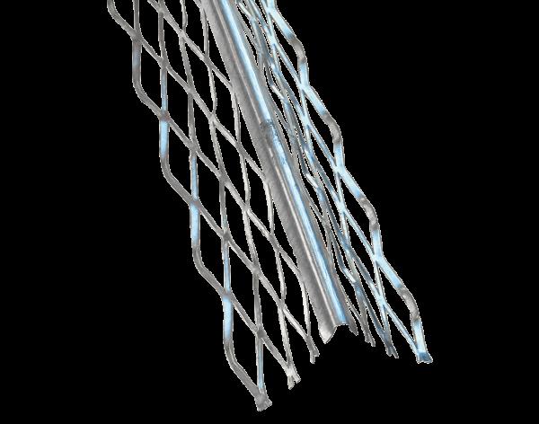 Profil de tencuit metalic, 48 × 48 mm, 3,0 m, Protectie colt interior/exterior 0