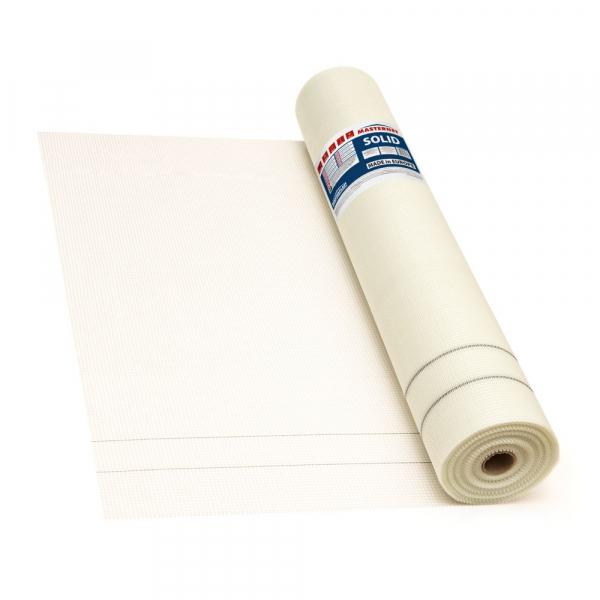 Plasa din fibra de sticla alba MASTERNET SOLID, 145 g/mp, 50mp 0