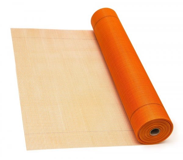 Plasa fibra de sticla, Orange, 160 g/mp, MASTERNET CLASSIC, 50mp 0