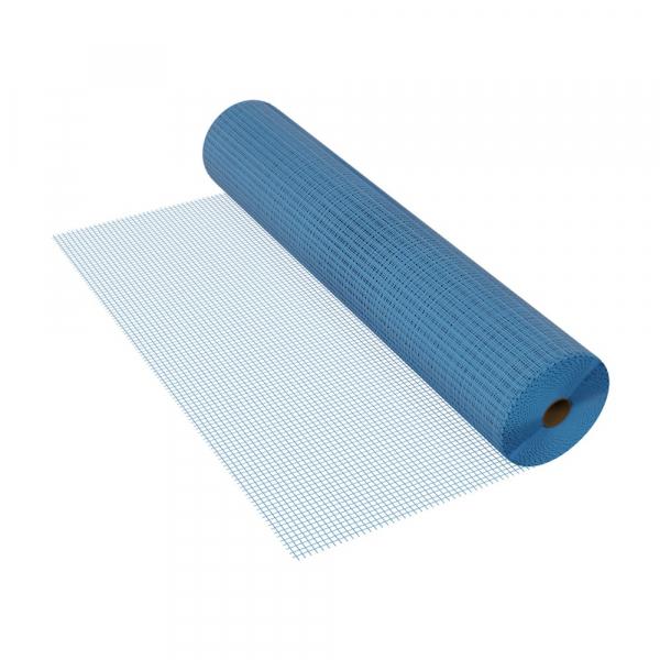 Plasa fibra de sticla, Albastra, 110 g/mp, Rabitz A, MASTERNET, 50mp 0