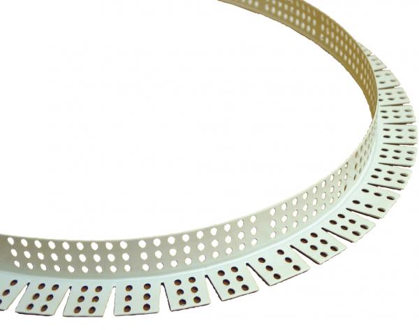 Sina arcuita protectie colt gipscarton, 2.5m, MASTERPROFIL PVC-FLEX 0